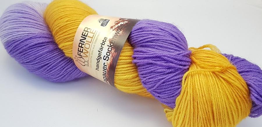 Ferner Wolle handgefärbte Lungauer Sockenwolle