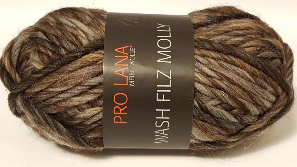 Strickliesel Shop Wash Filz Molly256 Pro Lana Wollfilz