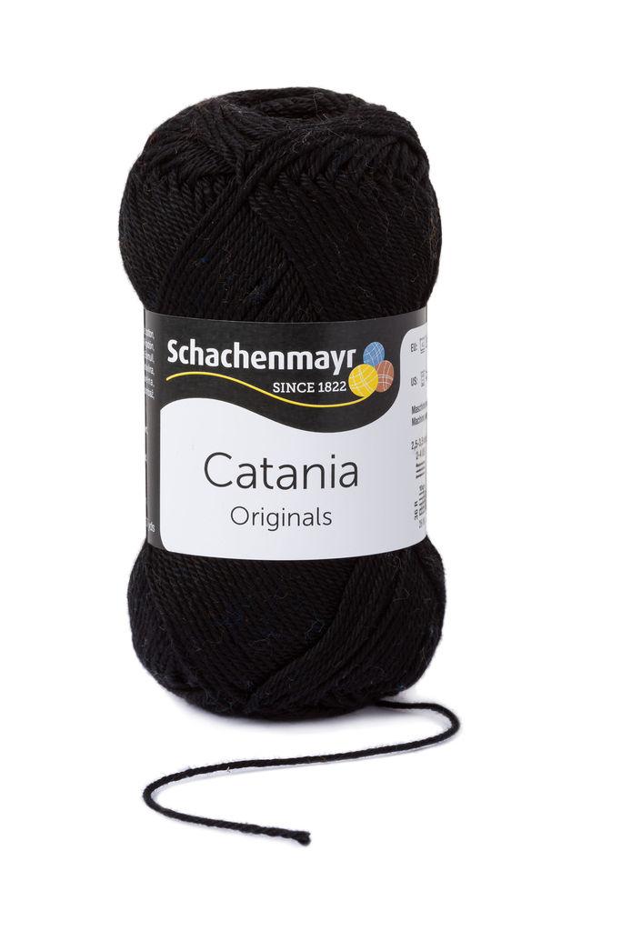 Schachenmayr Catania Schwarz 0110