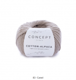 Katia/Cotton Alpaca/83 Camel