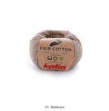 Katia/Fair Cotton/23 Rehbraun