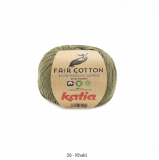 Katia/Fair Cotton/36 Khaki