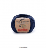 Katia/Fair Cotton/5 Dunkelblau