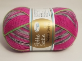 Rellana/Flotte Socke/Perfect Stripes/1173 Grau Pink