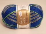 Rellana/Flotte Socke/Perfect Stripes/1174 Grau Blau